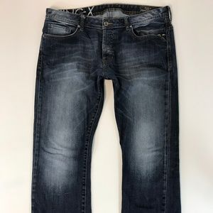 David Bitton King-X Men Jeans SZ 36X32 Basic Slim